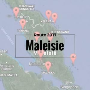 Maleisie Route 2017