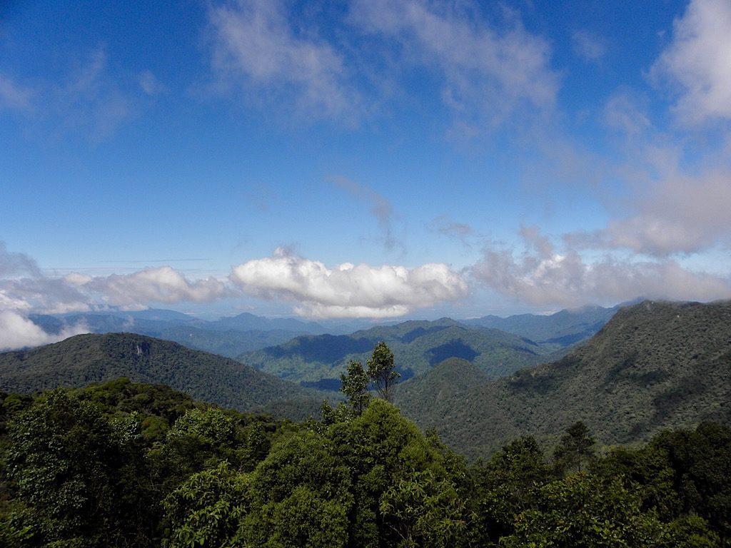 Uitzicht vanaf de Brinchang