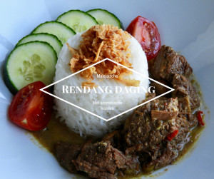 Maleisische rendang met rundvlees
