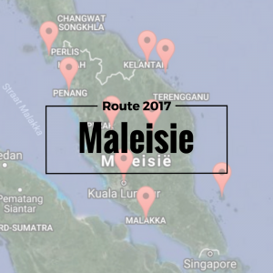 Maleisie Route 2017