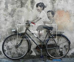 Street art Panang