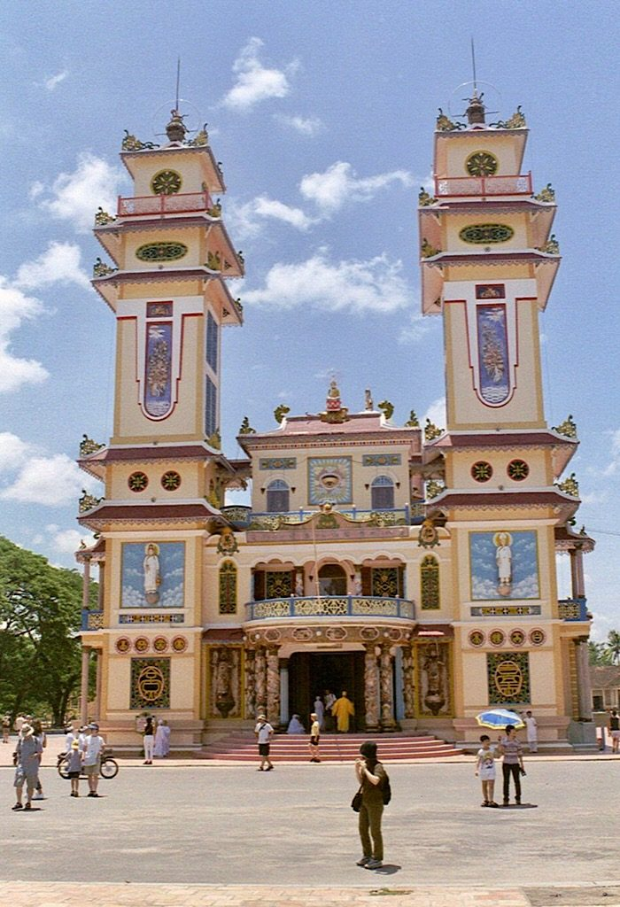 Cao Dai tempel, Vietnam