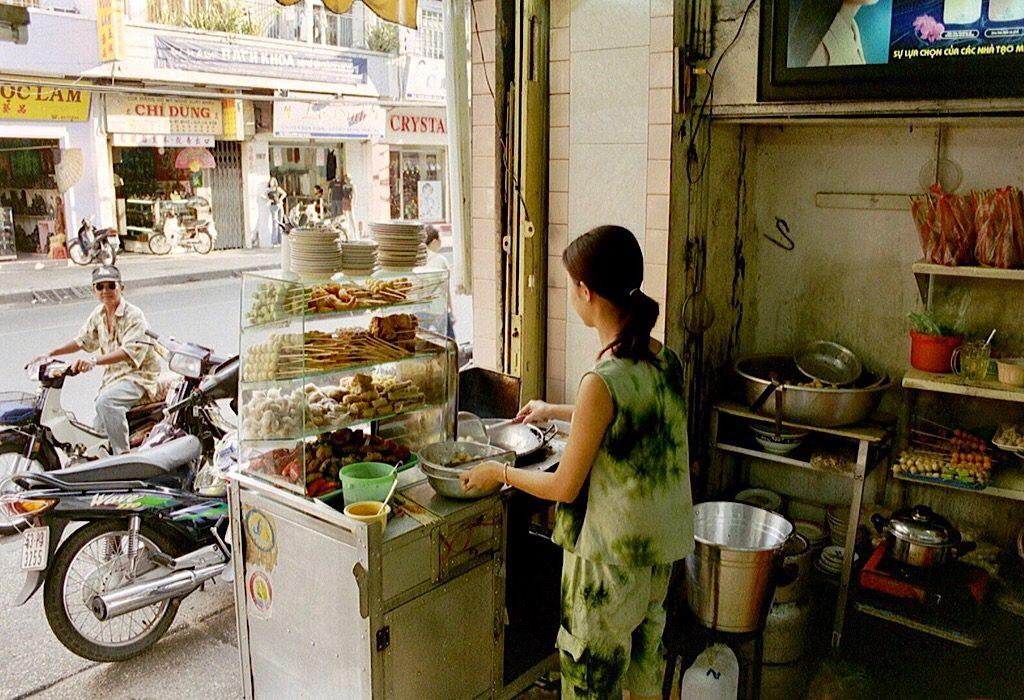 Snacken op z'n Vietnamees