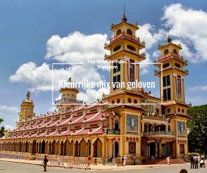 Tay Ninh tempel, Vietnam