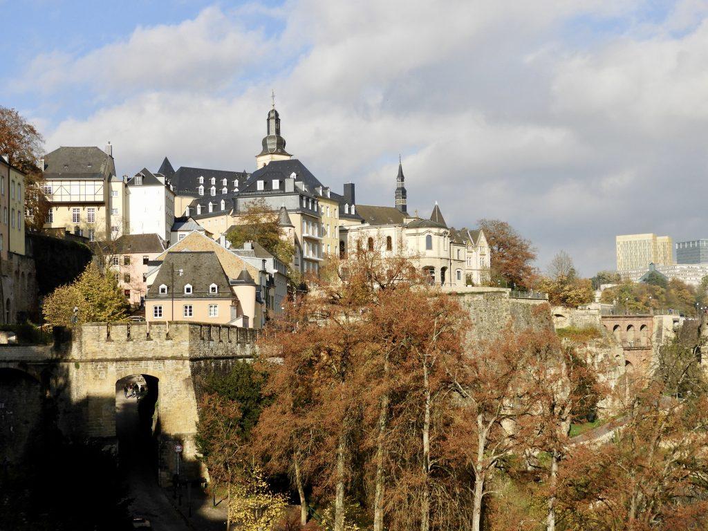 Luxemburg, kazematten