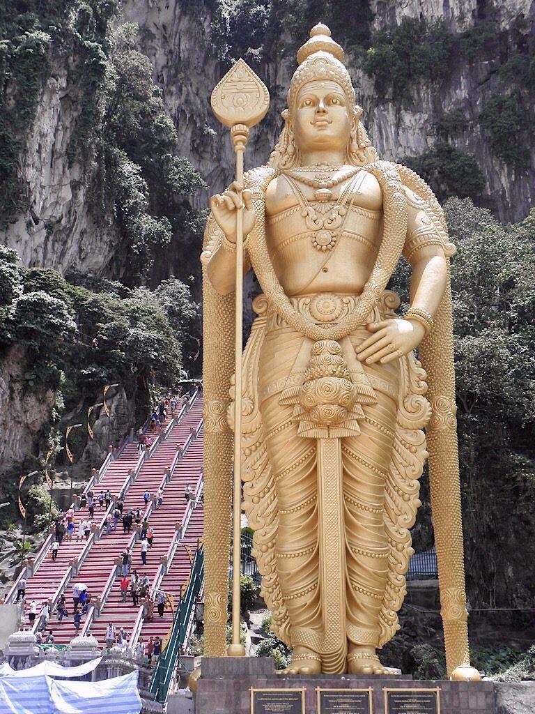 Lord Murugan, Batu Caves