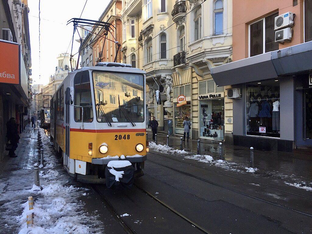 Tram, Sofia