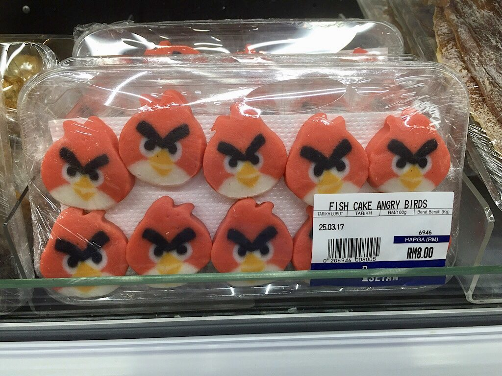 Angry Birds viskoekjes