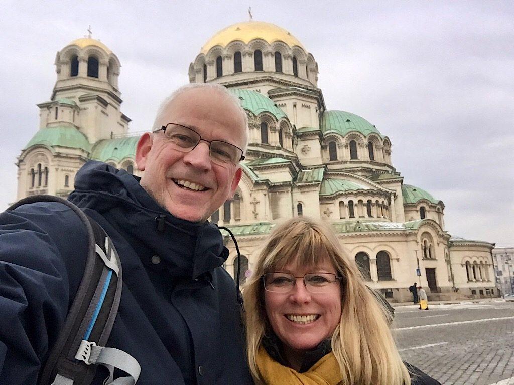 Martin en Jolanda in Sofia
